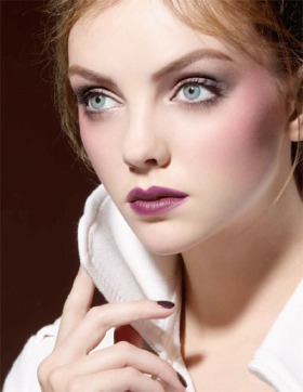 A model wearing Nars Fall 2009 Collection