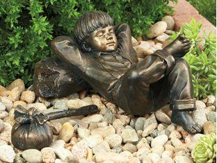 childhood pleasures statue