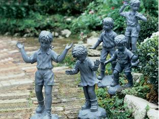 Follow the Leader Sculptures