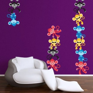 Silly Monkey Do Wall Stickers