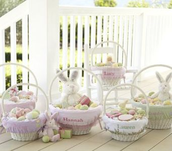 Girls' Easter Baskets and Liners