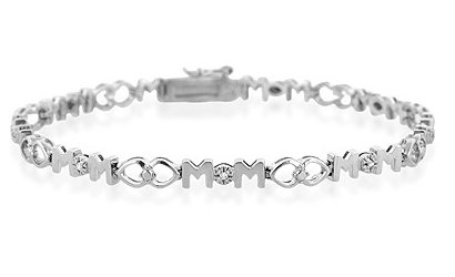 Diamond MOM bracelet