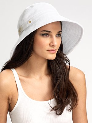Terry Sun-Blocker Hat