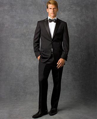 Tommy Hilfiger Black Tuxedo Jacket