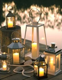 Bristol candle Lantern