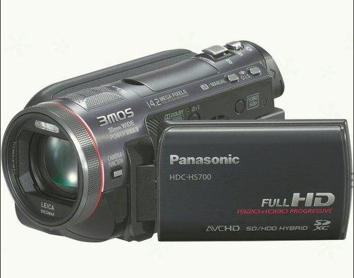 panasonic camcorders  HDC-HS700K