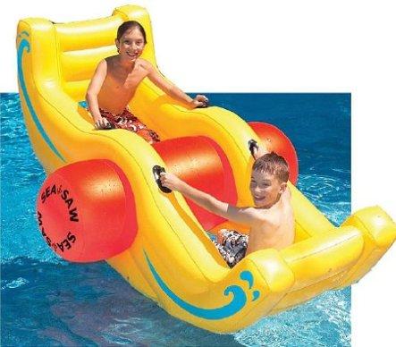 Inflatable Vinyl Seasaw Rocker