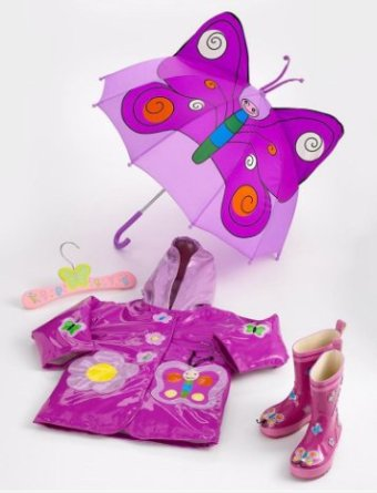 Kidorable Butterfly Rain Collection