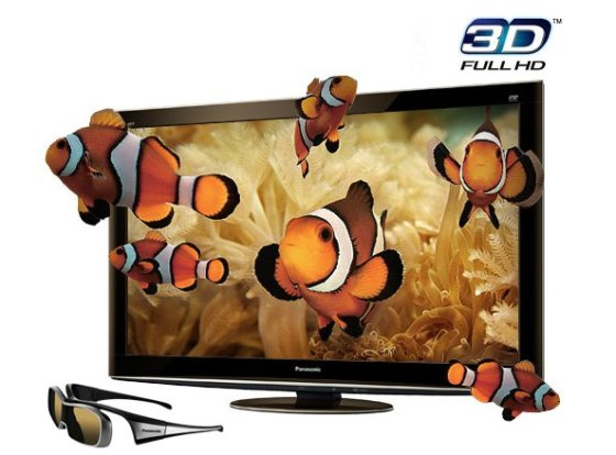 PANASONIC TCP50VT25 Full HD 3D Plasma