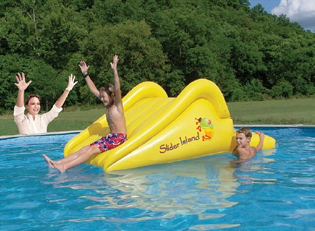 Slider Island Inflatable Water Toy