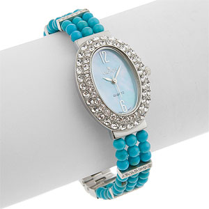 Croton Womens Crystal Watch