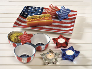 Patriotic Serveware