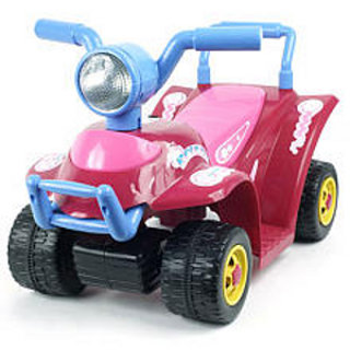 Pink Mini Battery Operated ATV Ride On Car