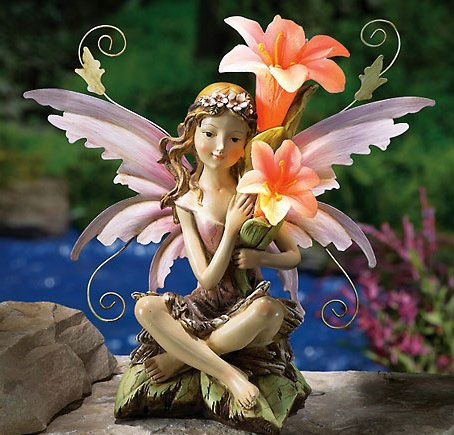Solar Fairy Outdoor Figurine