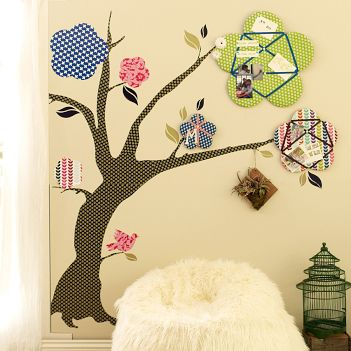 De-Vine Tree Decal Pinboards