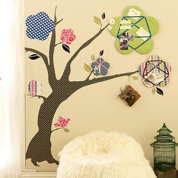 De-Vine Tree Decal Pinboards