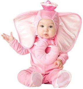 Pink Elephant Infant Costume