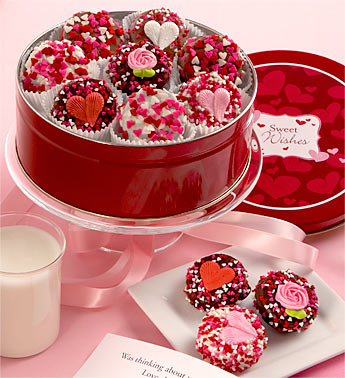 Sweetheart Belgian Chocolate Covered Oreo