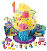 squinkies deluxe playset - cupcake surprise bake shop