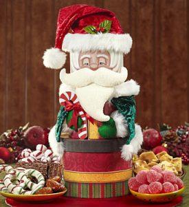 here comes santa claus keepsake sweets tower